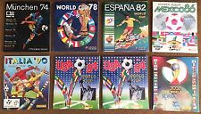Panini World Cup Completed Albums Collection - Pick/choose