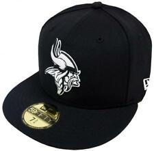 New Era Minnesota Vikings Black White 59fifty Fitted Cap Basecap Limited Edition