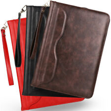 Genuine Leather Smart Case Stand Cover Hand Rope For iPad 2 3 4 Mini Air Pro 9.7
