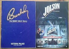 Selection of individual Victoria Palace Theatre programmes 1990s, programme