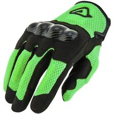 GUANTI ACERBIS RAMSEY MY VENTED GLOVES VARIE TAGLIE PER MOTO E SCOOTER VERDE NER