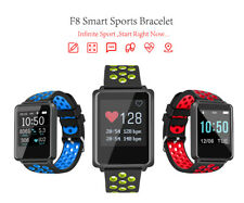 F8 Sports Smart Watch Heart Rate Monitor Waterproof Wristband For Android IOS