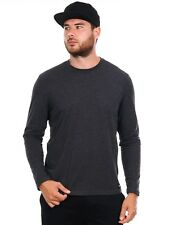 Element Charcoal Heather Basic Crew Long Sleeved T-Shirt