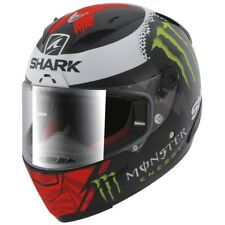 NEW SHARK RACE-R PRO LORENZO MOTORCYCLE MOTORBIKE HELMET RACE REPLICA
