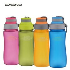 BPA Free Sports Water Flip Drink Cycling Hiking Running Bottle 600ml/1000ml