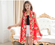 Scarf Women Clothing Beach Silk Sunscreen Bikini Cover Ups Suits Scarves Capes