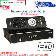 Decoder Digitale Satellitare DVB-S2 HD con funzione PVR USB e telecomando