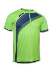 JOMA MAILLOT CYCLISME VERT FLUOR S/s Running MAILLOT équipe HOMME