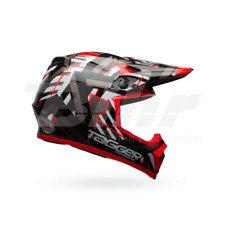 ENVÍO GRATIS CASCO BELL MX-9 MIPS EQUIPPED TAGGER DOUBLE TROUBLE AMARILLO MOTO
