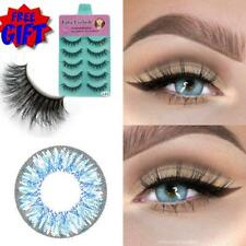 CRAZY Coloured Contact Lenses Kontaktlinsen color contacts lens free Eyelashes