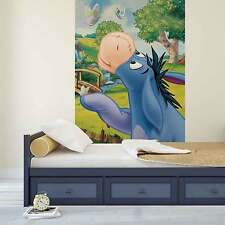 Neuf Papier Peint Photo Disney Winnie L'Ourson Âne Bourriquet Paint Mural