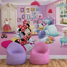 Papel Pintado Mural De Vellón Disney Minnie Mouse and Pato Photo FONDOS PANTALLA