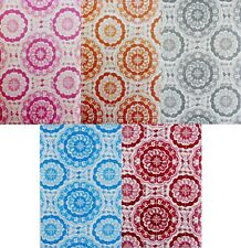 Bursting Blooms of Color Vinyl Flannel Back Tablecloth -Various Sizes/Color