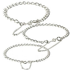 STERLING SILVER CHARM BRACELET LADIES MAIDS CHILDS SOLID CURB LINK SAFETY CHAIN