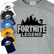 Fortnite Legend Dogtag Mens Childern Play Gaming Xbox One PS4 Kids Gift T-Shirt
