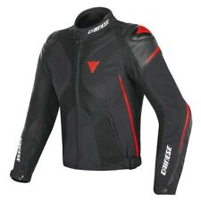 DAINESE Super Rider D-Dry Giacca in pelle NUOVO