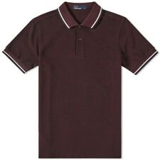 Fred Perry Slim Fit Twin Tipped Polo M3600 D43