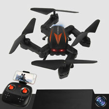 2.4G Foldable Mini RC Drones Quadcopters WIFI FPV Cam Altitude Hovering CF Mode