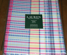 Ralph Lauren ALDEN PLAID RED Blue, Yellow & White Tablecloths or Placemats-