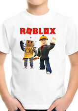 Roblox Builders Gamer Kids Gamers Cartoon Unisex Boys Girls Birthday T shirt 768