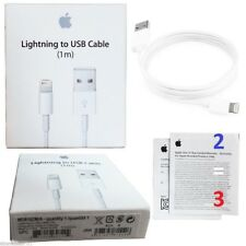 Original cable chargeur USB Lightning pour Apple iPhone 5/6/7/8/X iPad iPod 1m