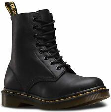 Dr Martens Womens 1460 Black Pascal Virginia Soft Leather Boots
