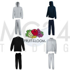 FRUIT OF THE LOOM jogginghosenanzug VARIE COLORI IN S, M, L, XL, 2XL