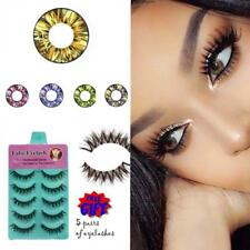 FREE 5Eyelashes CRAZY Coloured Contact Lenses Kontaktlinsen color contacts lens