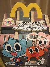 *** 2018 THE AMAZING WORLD OF GUMBALL *** McDonalds Happy Meal Toys [ BNIP ] ***