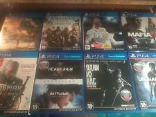 Playstation 4 Games Bundle/Lot PS4 (Very Good Condition) ENGLISH/RUSSIAN VERSION