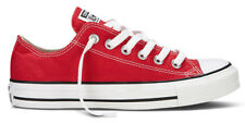 CONVERSE Chucks turnscuhe Baskets en toile OX LOW Rouge M9696 neuf All Star