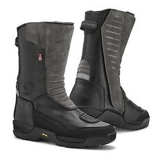 Rev'it Gravel Outdry Laminated Waterproof Leather Motorcycle Boots Black