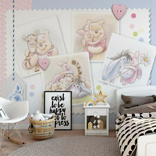 Papier Peint Photo pour Chambre Disney Winnie L'Ourson Piglet Eeyore Tigrou