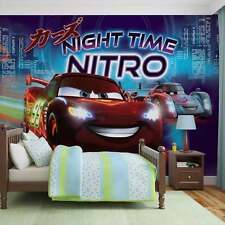 Papel Pintado Foto Mural Disney Cars Lightning McQueen Bernoulli PHOTO