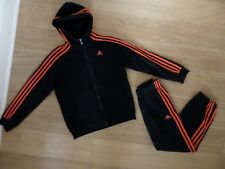 BOY'S ADIDAS TRACKSUIT. AGE 9 - 10 YEARS. EXCELLENT CONDITION.