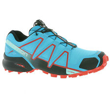 Trail Zapatos running Salomon Speedcross 4 W,turquesa / Negro / rojo,Art nr.