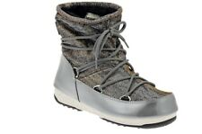SCARPE Moon Boot W.E. LOW LUREX Stivali Nuove GRI54131 SCARPE FASHION DONNA
