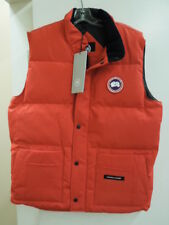 NEW MEN'S CANADA GOOSE FREESTYLE CREW VEST - RED -  XL - #4154M $350.00