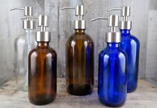 Apothecary Style Stainless Soap/Lotion Pump- Choose Size/Color - Bath Or Kitchen