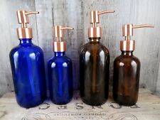 Apothecary Style Copper Soap Pump - Choose Size And Color - Bath Or Kitchen