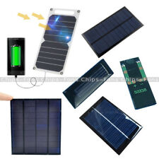 0.5/5/6V 0.6/1/10W 100mA Epoxy Cell Photovoltaic Battery Charger Solar Panel UK