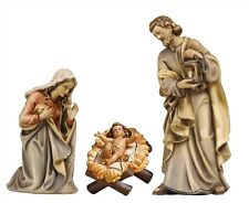 Nativity 3 pcs. statue wood carving, for Nativity set mod. 912