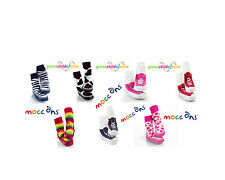 MOCC ONS CHILDRENS SLIPPER SOCK SHOES ALL SIZES & STYLES NEW SNEAKER  MOCC ONS
