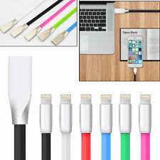 Zinc Alloy USB Lightning Data Sync Fast Charging Cable For Apple iPhone X 6 7 8