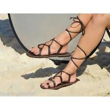Santo Sandals, Girl's Leather Gladiator Sandals, Cow Leather, PU straps New!