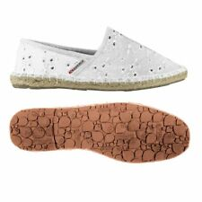 SUPERGA 4524 Espadrilles DONNA SANGALLO satin bianco Prv/Est casual NEW 901profa