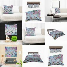 UK Made 3D Butterfly Bed Colourfull Print Duvet Covers or Tapestry or Cushions
