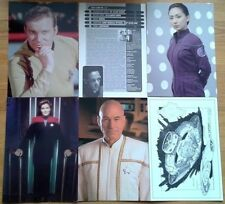 Individual Star Trek Data & Art Cards Original Next Generation Voyager DS9 card
