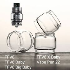 1Pc SMOK Extend Bulb Replacement Pyrex Glass Tube for TFV8 Baby/Big Baby/X Baby