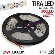 Tira LED 5M 3528 BLANCO FRIO O BLANCO CALIDO 300 LED ROLLO Envio desde MADRID